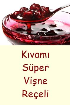 Vişne Reçeli – Amazing World Food and Recipes Healthy Eating Tips, Healthy Nutrition, Healthy Recipes, Köstliche Desserts, Delicious Desserts, Jam Label, Frozen Fruit, Vegetable Drinks, Confectionery