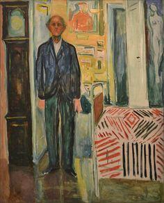 Edvard Munch · The Night Wanderer II   Self Portrait · 1940 · Munch Museum · Oslo