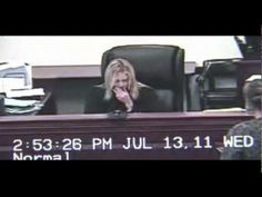 A woman is caught on camera attacking a judge and now she's going to have to spend 120 days behind bars.  As Jackie Congedo reports, it all started because the woman's ex-husband wanted protection from her.