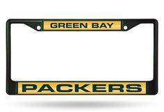 GREEN BAY PACKERS... http://www.757sc.com/products/green-bay-packers-green-laser-cut-chrome-license-plate-frame?utm_campaign=social_autopilot&utm_source=pin&utm_medium=pin #nfl #mlb #nba #nhl #ncaaa #757sc