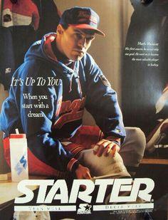 Mark Messier Starter advertisement.