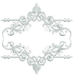 23 designs.  Beautiful whitework is a heritage dream. Whitework has been around for centuries and it's a style that never goes away. Tone-on-tone beauty adds elegance to any decor item. Whitework is timeless. I used this specific set for heirloom pillows and pillow case designing.  Designs fit the 4x4, 5x7 and 6x6 hoop sizes. All sizes included. Machine formats included: JEF, HUS, PES, VIP, VP3, EXP, XXX Color charts in PDF format included.