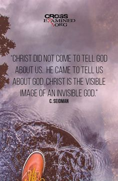 Christ connects us to God in a way no other man can because He is God. #Christian
