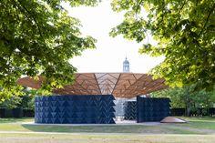 Serpentine Pavilion 2017, designed by Francis Kéré Serpentine Gallery, London(23 June _ 19 November 2017) - Kéré Architecture, Photography-2017 Iwan Baan