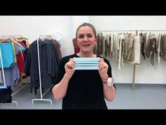 Roušky proti koronaviru - Koronavirus v Česku aktuálně Fabric Stamping, Textiles, Diy Clothing, Sewing Hacks, Product Launch, Youtube, Clothes, Household, Crafts