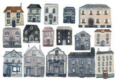 houses illustration by Livi Gosling