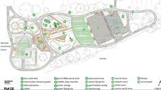 Family fun: Plans show all the new features in the Jubilee Park Adventure playground. Picture: Supplied