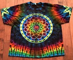 What a beauty!  FOLLOW @tessmcx for more great tie dye! ✝ღ