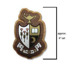 Gamma Phi Beta Sorority Wooden Crest $6.95
