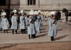 Emperor Wilhelm II takes the salute at the Lustgarten in Berlin, for the cathedral, probably after the inauguration of the building on February 27, 1905.