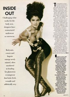 """veroushka: """" Helena Christensen """"Inside Out"""" Vogue UK, February 1991 Photos by Herb Ritts """" Helena Christensen, Vogue Uk, Claudia Schiffer, Fashion Kids, Fashion Images, Kate Moss, Free Pictures, Cool Pictures, Herb Ritts"""