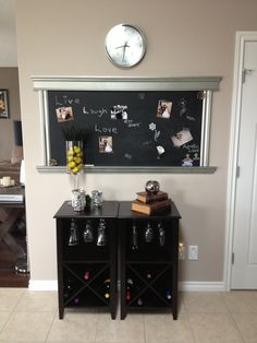 Chalkboard and kitchen decor