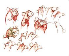 """Ratatouille"" Remy character study"