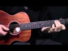 "how to play ""Here Comes the Sun"" by The Beatles_George Harrison - acoustic guitar lesson - YouTube"
