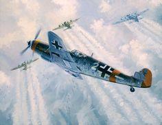 Messerschmitt Me 109 Ww2 Aircraft, Fighter Aircraft, Military Aircraft, Luftwaffe, Airplane News, German Army, Aviation Art, Military History, Wwii
