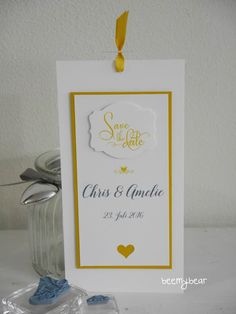 Stampin with Beemybear: Save the Date