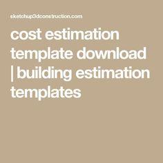 Construction estimate forms pdf cost estimating sheet cost estimation template download building estimation templates fandeluxe Images