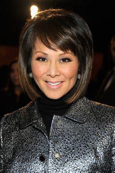 Alina Cho Mid-Length Bob