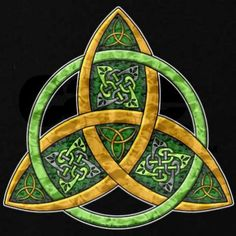 The Triquetra or the Trinity Knot - Celtic Symbols Triquetra, Pentacle, Celtic Patterns, Celtic Designs, Celtic Symbols, Celtic Art, Celtic Protection Symbols, Irish Symbols, Celtic Dragon
