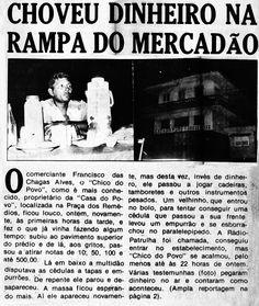 "Jornal A Notícia 18/02/1978 - Isso é que é ""notiça"".... kkkk..."