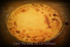 Con tu pan te lo comas: TARTA DE REQUESÓN