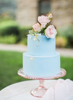 Beautiful Blue English Countryside Wedding Inspiration - Inspired By This