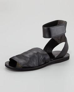 Vince Sadie Flat Grip Strap Sandal - Neiman Marcus I WANT