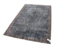 zwart bruin vloerkleed