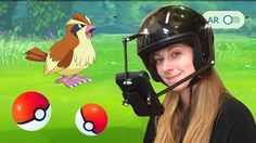 The world's first Pokemon Go helmet!