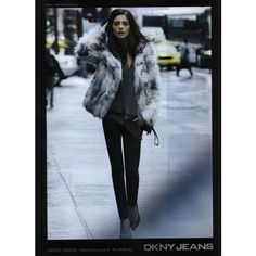 DKNY Jeans Ad Campaign Fall/Winter 2012 Shot #1 ❤ liked on Polyvore