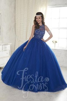Full, luscious tulle sprinkled with tiny beads bring together this fiesta gown, studded with chunky colorful bead work on the bodice and beaded illusion straps. Download the Fiesta Gowns by House of W