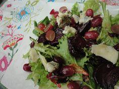 Kook je vegetarisch met mij mee?: Hemelse salade met geroosterde bietjes
