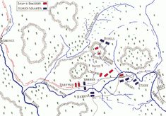 Map of the Battle of Bennington on August 1777 in the American Revolutionary War: map by John Fawkes Revolutionary War Battles, American Revolutionary War, American Civil War, American History, Military Tactics, Military Art, American Revolution Battles, American Independence, War Of 1812