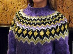 """Кофты и свитера ручной работы. Заказать Исландский свитер """"лопапейса"""". Ярина. Ярмарка Мастеров. Исландская шерсть, свитер женский"""