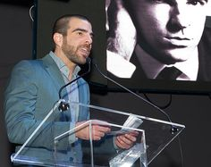The ever-sexy Zachary Quinto. Out 100's Artist of the Year.