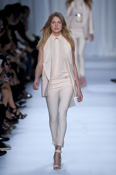 white suit - i love this! Givenchy Spring 2012