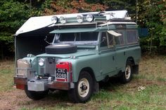 Awesome vintage Land Rover