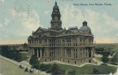 vintage fort worth texas postcards | Tarrant County TXGenWeb - Old Fort Worth Postcards