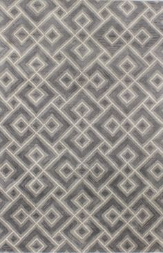 Chic hand tufted rugs for sale, at Hadinger Area Rug Gallery! (Nationwide shipping available.) A23Z S185-ST265 Grey