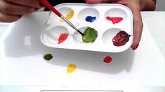 Estudo Cromático a partir das 3 cores primárias