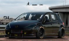 ArtStation - Peugeot 307 - Rocket Bunny, Robert Ramos