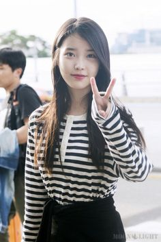 #IU Cute Korean, Korean Girl, Asian Girl, Iu Fashion, Korean Fashion, Korean Celebrities, Celebs, Hot Japanese Girls, Korean Outfits