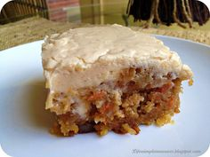 Gooey Cinnamon Carrot Cake. Possibly the best cake ever - cinnamon, pineapple, pecans, coconut-carrot cake, caramel-like buttermilk glaze and Cinnamon Cream Cheese Frosting.