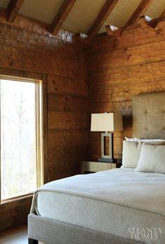 textured wood walls