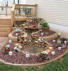 Gib deinem Garten das gewisse Extra! 12 verrückte Ideen für Springbrunnen und Gartenteiche im Garten! - DIY Bastelideen