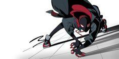 Marvel Comics Art, Marvel Memes, Marvel Dc, Miles Morales Spiderman, Neon Artwork, Spiderman Art, Spider Verse, Nerd Geek, Man Stuff