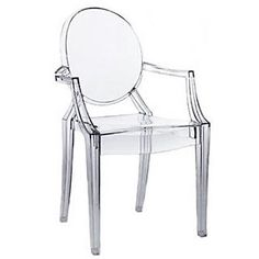 Commercial Seating Products Ghost Chiavari Stackable Chair; Clear