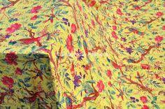Textile Shop: SPECIAL'S OFFERFlower prints Vintage Tropical Kan...