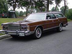 1976 Mercury Colony Park Marquis Deluxe