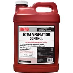 gal Total Vegetation Control Glyphosate Grass and Weed Preventer Killer How To Kill Grass, Weed Types, Bermuda Grass, Poison Oak, Gravel Path, Invasive Plants, Weed Killer, Weed Control, Spot Treatment